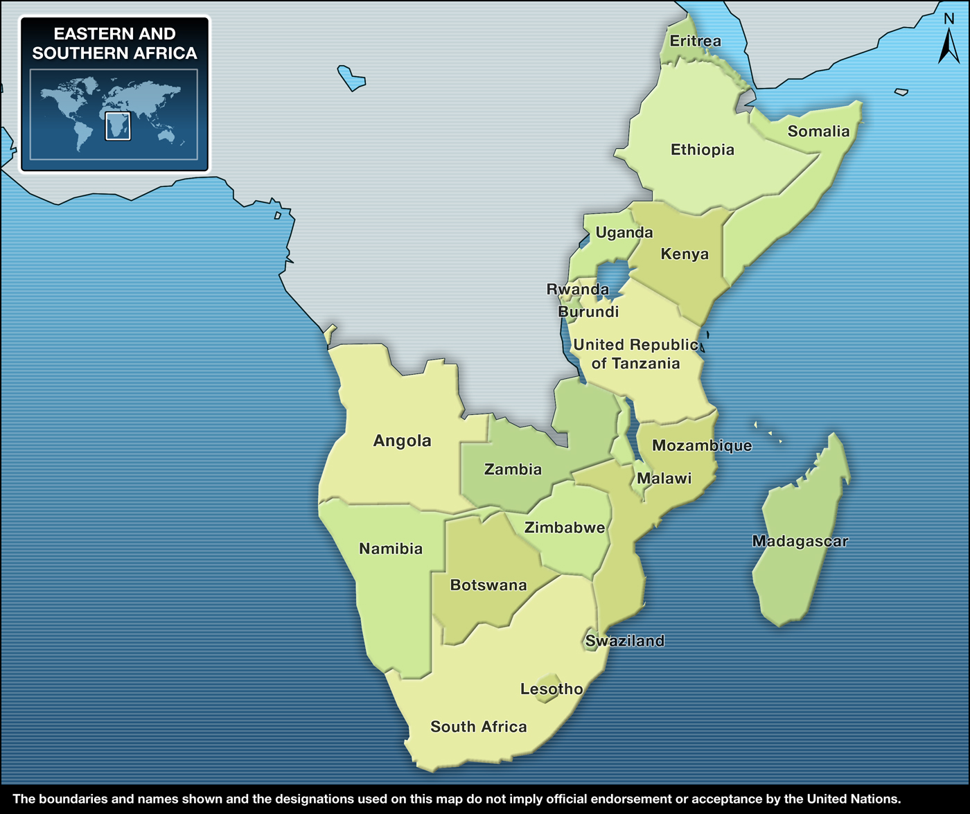eastern and southern africa